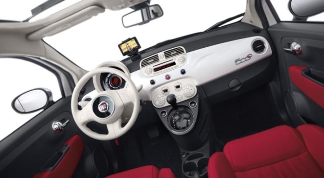 Fiat 500 C dash