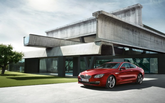 BMW 6 Series Coupe exterior