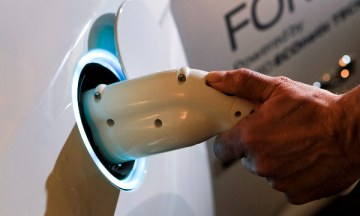 Ford Focus charge point
