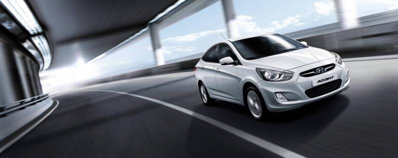Hyundai Accent body