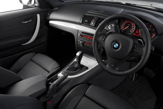 BMW 1 Series Coupe dash