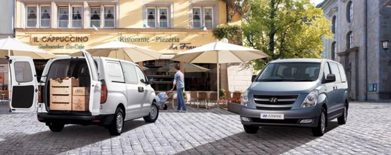 Hyundai iMax exterior