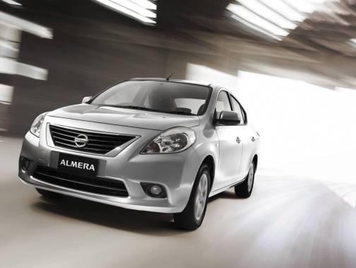 Nissan Almera silver