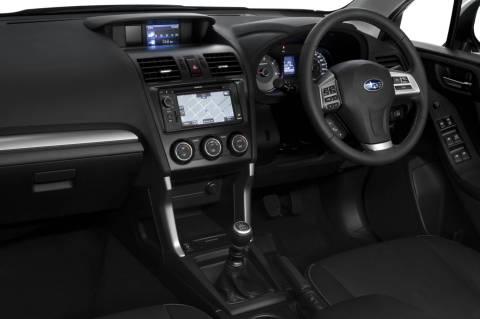 Subaru Forester dash