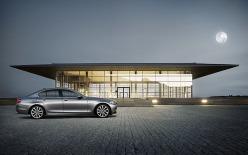Silver BMW 5 Series