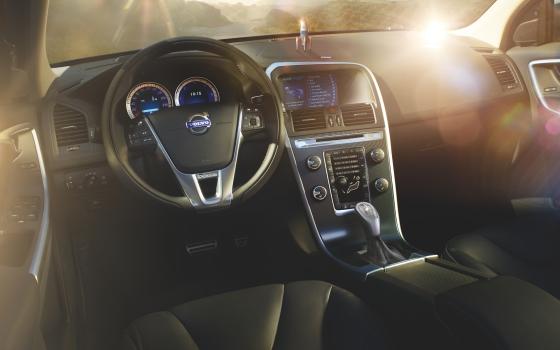 Volvo XC60 dash