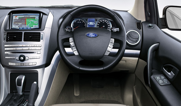 Ford Territory dash