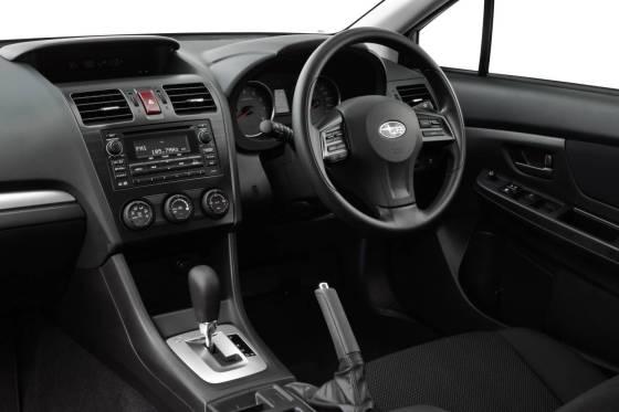 Subaru Impreza dash