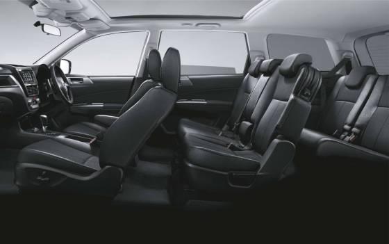 Subaru Exiga seats