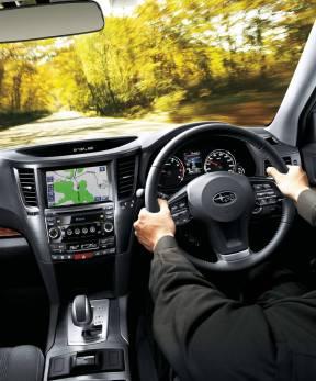 Subaru Outback dash