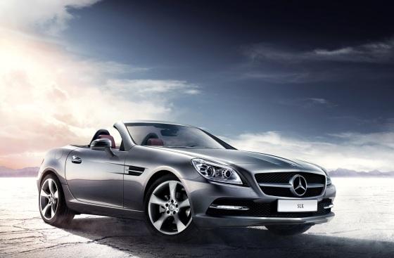 Benz SLK exterior