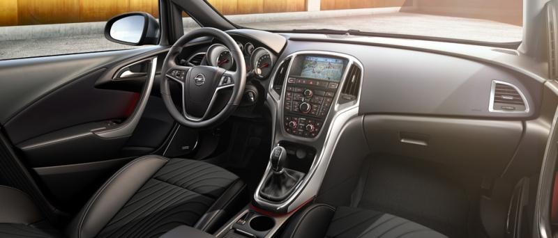 Opel Astra dash