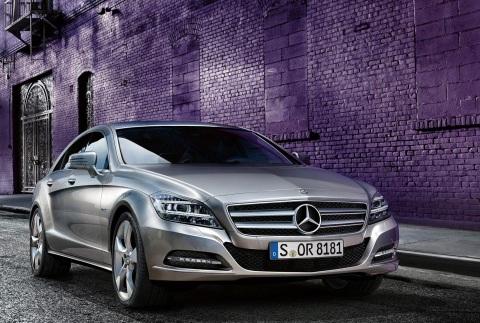 Mercedes-Benz CLS Coupe exterior