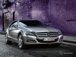 Mercedes-Benz CLS Coupe exterior