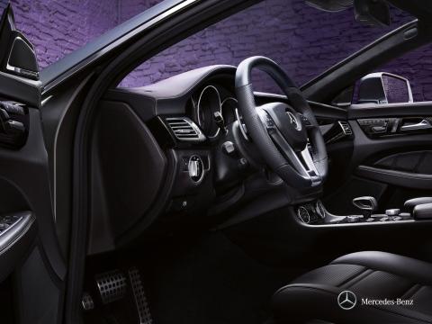 Mercedes-Benz CLS Coupe interior