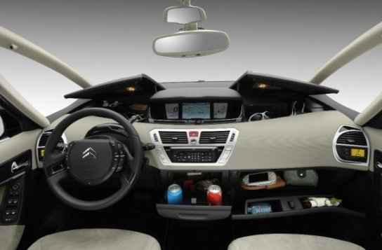 Citroen C4 Grand Picasso dash