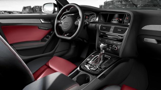 Audi S4 dash
