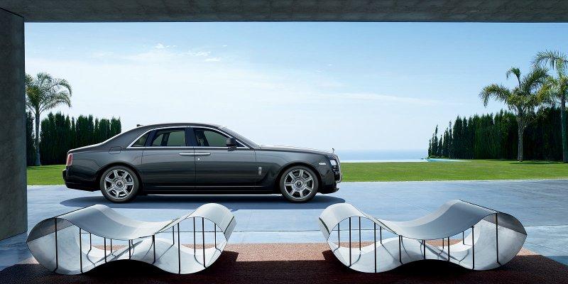 Rolls-Royce Ghost exterior