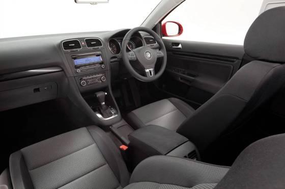 Volkswagen Golf interior dash