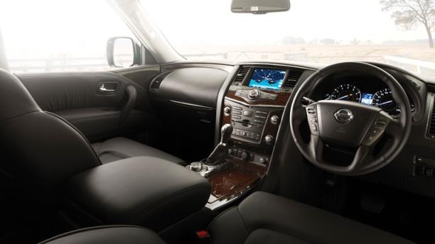 Nissan Patrol dash
