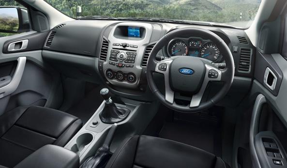 Ford Ranger dash