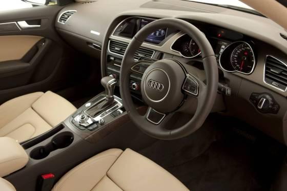 Audi A5 sportback dash