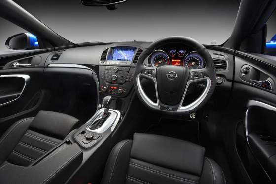 Opel Insignia OPC interior