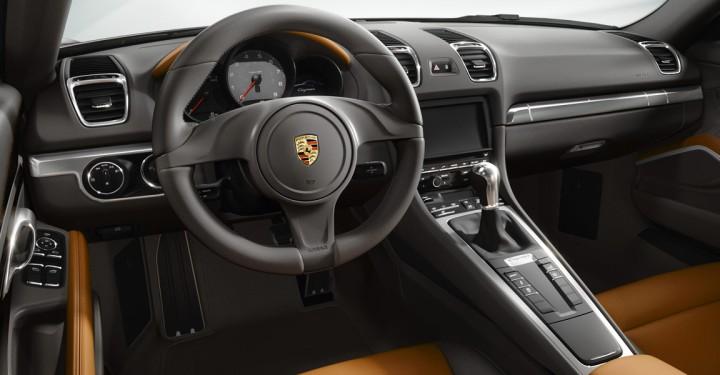 Porsche Cayman dash