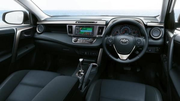 Toyota RAV4 dash