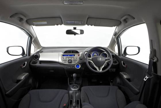 Honda Jazz dash